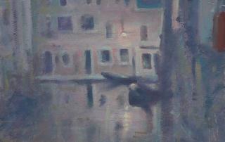 Painting in Venice, Sebastien Salva