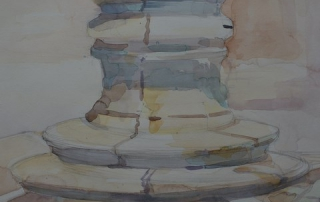 WatercolourVenice, pit, Caroline Barray